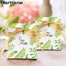 <b>OurWarm 10pcs</b> Wedding Favor Box Bomboniera Candy Box ...