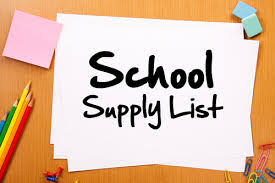 Image result for Kindergarten images supply list