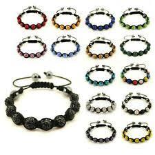 Yellow Shamballa Fashion Bracelets for sale   eBay