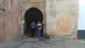 Resultado de imagen de pintadas en el albayzin