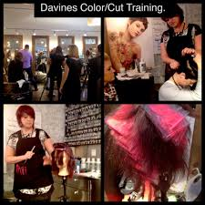 my time in red bank nj for the davines core cutting color classes rb 7