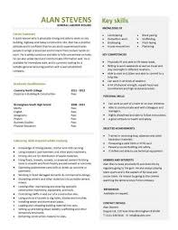 student entry level general laborer resume template general resume example