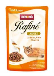 <b>Паучи</b> Анимонда <b>Rafine Adult</b> для взрослых кошек, в ...