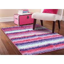 kids rugs walmart com your zone striped shag rug pink 38 x 26 home decorator black shag rug home office