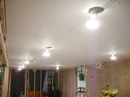 you basement ceiling lighting