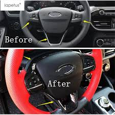 <b>Lapetus Accessories</b> Fit For Focus 2019 2020 ABS <b>Auto Steering</b> ...