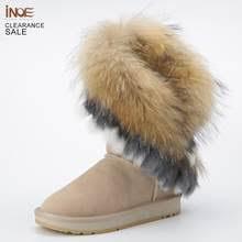 <b>Boot Snow</b> Fur Fox