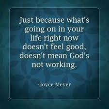Faith in hard times on Pinterest   Bible Quotes, Faith and Joyce Meyer via Relatably.com