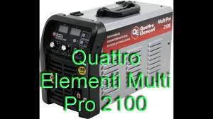 <b>Сварочный</b> аппарат <b>Quattro Elementi</b> Multi Pro 2100 - YouTube