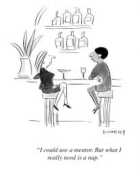 do you need a mentor cartoons on mentoring