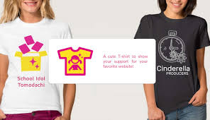 deby is creating mobile gaming communities school idol tomodachi the first time you donate 100 you will receive a t shirt that features the logo and of the website you support