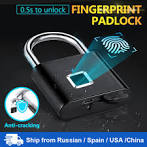 Towode <b>Keyless USB</b> Rechargeable Door Lock Fingerprint Smart ...