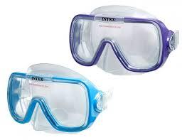 <b>Маска</b> для плавания <b>Intex Rider</b> от 8 лет 55976 Артикул 201380 ...