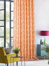 Купить <b>комплект штор</b> «<b>Ликли</b> (оранжевый)» оранжевый, белый ...