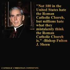 Image result for Fulton Sheen - truth