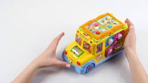 """<b>Игрушка</b> """"Школьный автобус"""" от <b>Huile Toys</b> - YouTube"""