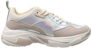 Pepe Jeans Womens Sinyu Reflect <b>Trainers</b> Fashion Sneakers