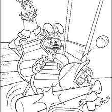 Small Picture Runt and foxy loxy coloring pages Hellokidscom