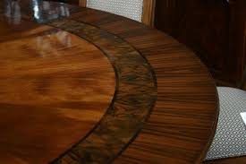 Round Dining Room Table Seats 12 Extra Large Solid Walnut Expandable Round Jupe Dining Table Seats