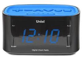 Электронные настольные <b>часы</b>-радио <b>Uniel UTR</b>-<b>33BBK</b>