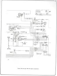 complete wiring diagrams 81 87 v8 engine compartment