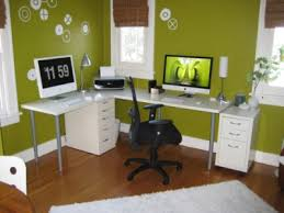 a great choice for a home office because green is the color of concentration its one of the best colors to be surrounded by for long periods of time best colors for office
