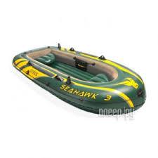 <b>Лодка Intex Seahawk 3</b> Set 68380