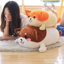 50/70cm Cute <b>Plush</b> Shiba Inu Dog Doll <b>Japan Mameshiba Stuffed</b> ...