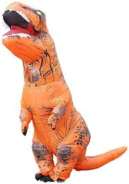 <b>Halloween Adult</b> Clothes Inflatable Suit <b>Tyrannosaurus Rex</b> ...
