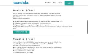 microsoft real exam questions % exam labs 70 334 practice exam 1 70 334 practice exam 2