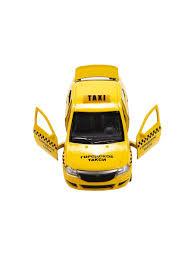 """Машина """"<b>RENAULT</b> LOGAN Такси"""" металлическая инерционная ..."""