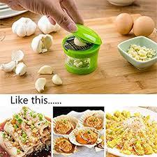 Garlic Grater Mini Portable ABS Stainless Steel Garlic ... - Amazon.com