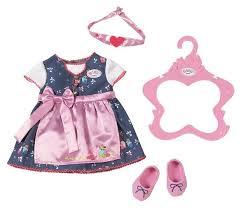 <b>Zapf Creation Платье</b> и обувь для куклы Baby Born 824504 ...