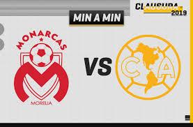 Morelia vs América EN VIVO y Minuto a Minuto, Jornada 9 Clausura ...
