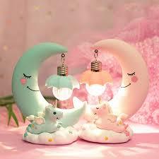 2019 Best Gift <b>LED Unicorn</b> Light Moon Lamp Romantic Night Lamp ...