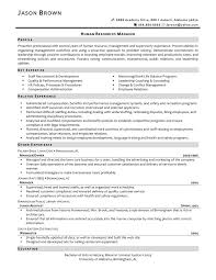 best human resources manager resume example recentresumes com sample human resources manager resume