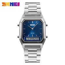 <b>SKMEI 1220 Quartz Digital</b> Wristwatches Men Fashion Casual ...