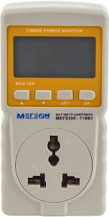 Ваттметр с функцией таймера <b>МЕГЕОН 71003</b> — купить в ...