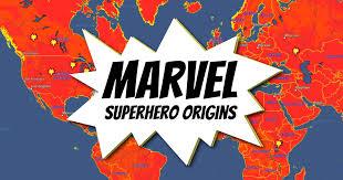 Marvel Superhero <b>Origins</b>