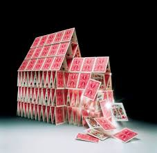 Image result for pictures of a house of cards collapse