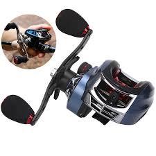 12+<b>1BB High</b> Speed Durable 8.1:1 Gear Ratio Fishing Bait Casting ...