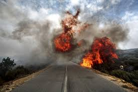 ALERTA: Em Corrente pode ter um criminoso provocando incêndios na zona rural