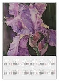 Календарь А2 Прекрасный Ирис #1004609 от theirenemen