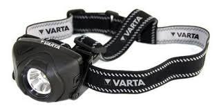 Налобный <b>фонарь VARTA 1W</b> LED INDESTRUCTIBLE HEAD ...