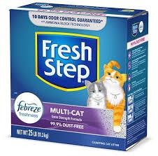 <b>FRESH STEP</b> Multi-<b>Cat</b> Scented Clumping Clay <b>Cat</b> Litter (Free ...