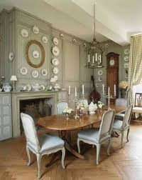 rustic dining room spaces french country