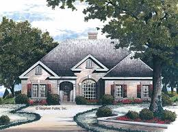 Floor Plans   Outlaw Construction Inc House Plan Details Delightfully different  this brick one story home has everything for the active family  The foyer opens to a formal dining room