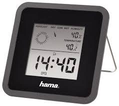 Купить Метеостанция <b>HAMA</b> TH50 <b>черный</b> по низкой цене с ...