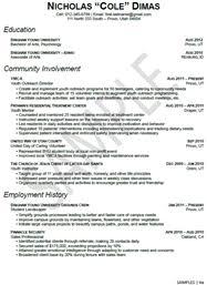 sample resumes   university career servicesstem