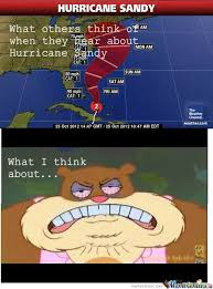 Hurricane Sandy by ncshaffer - Meme Center via Relatably.com